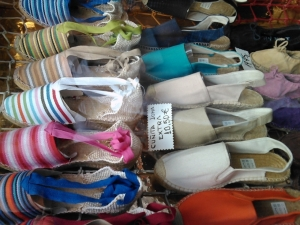 Espadrille wedges at Casa Hernanz. Photo pulled from their website.