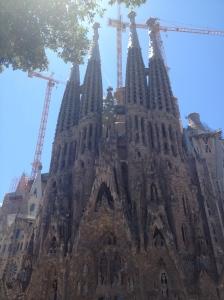 La Sagrada Familia, by Gaudi in all its glory