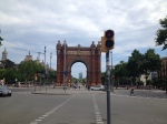 "The ""Arc de Triomphe"" from when the French invaded"