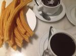 San Gines chocolate con churros